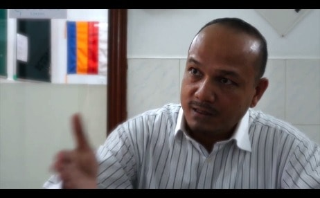 Tola Moeun är en viktig röst för mänskliga rättigheter i Kambodja.