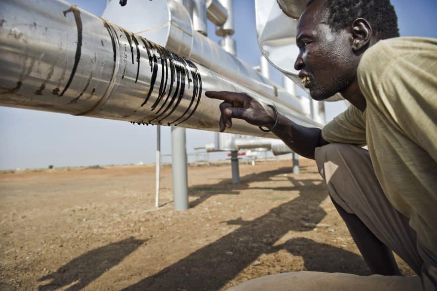 Enligt en kartläggning av organisationen Ecos bidrog Lundins verksamhet i Sudan till att över 12 000 människor dödades och 160 000 tvingades fly. Foto: Sven Torfinn